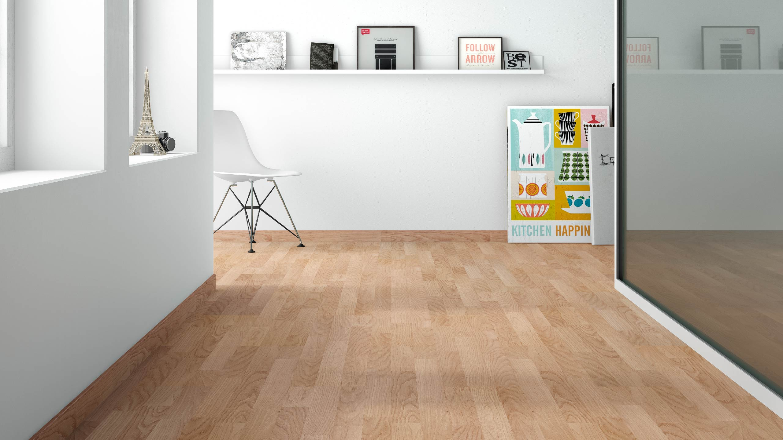 Comprar parquet roble sansa online for Suelo laminado roble